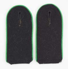 Waffen-SS: Pair of shoulder boards for mountain troops.