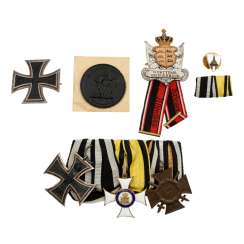 Württemberg/WK I - part discount with military order of merit of the knight's cross