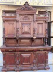 Buffet oak Russia the end of the 19th century