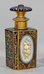 Perfume bottle with gold decoration