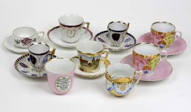 Items In The Collection Cups