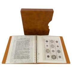 Coin collection, the theme of Saxons, the middle ages up to the 19th century. Century.-