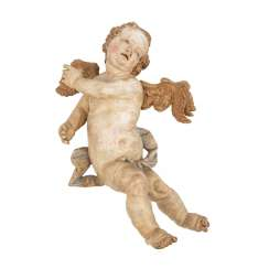 Carver of the 18th century. Century, A Baroque Putto,