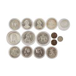 12-piece mixed lot of coins Dt. Empire -