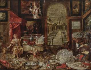 Flemish - Allegory of Taste, 17th century