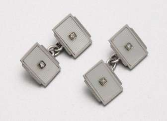 Pair of Harrods, London cufflinks