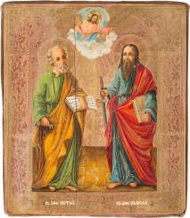 ICON OF THE APOSTLES PETER AND PAUL