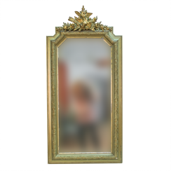 French mirror in the Empire style of the late XIX century