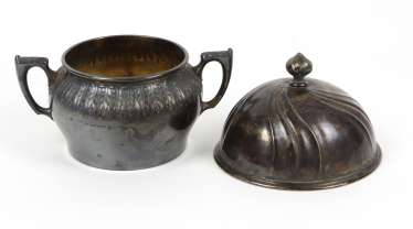 Sugar bowl - silver 800 and others
