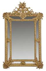 Belle Epoque wall mirror