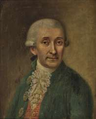 G. Wezer end of the 18th century, portrait of a gentleman