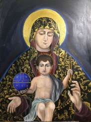 The virgin and Jesus (Armenian icon)