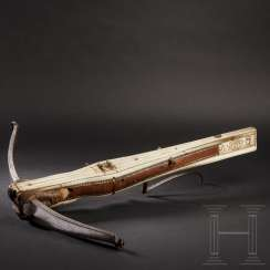Renaissance crossbow jointed, German, dated 1562