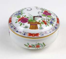 Meissen Lidded Box * Indian Painting *