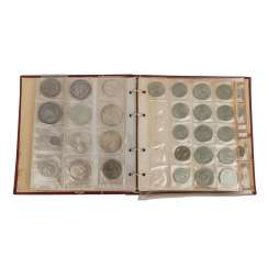 Album with coins and medals, with SILVER in the process