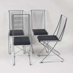 Set of four armchairs from the collection 'cross-transducer' for Schlubach