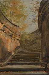 FRIEDRICH, Gustav Adolf: staircase at the Nymp