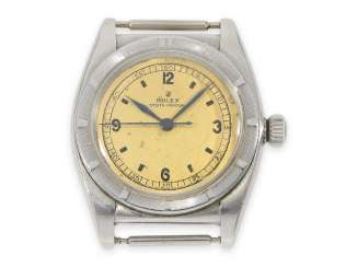 Watch: early Rolex Bubble Back Chronometer, Ref.3372, CA. 1943