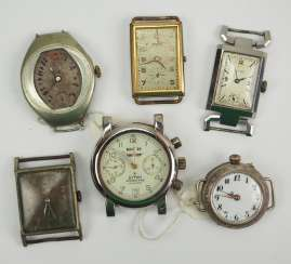 Lot of 6 wrist watches.