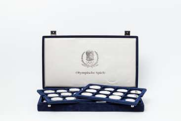 Olympic games II - Box with 36 coins,