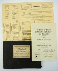 Documents estate of a Sergeant of the Large combat flying school 3.