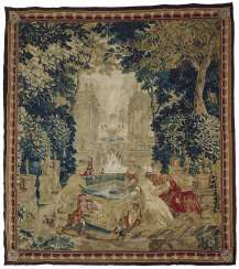 Oudenaarde (?), At the beginning of 18. Century. TAPESTRY
