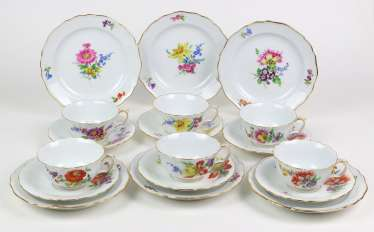 Meissen 6 Place Settings *Flower 3*