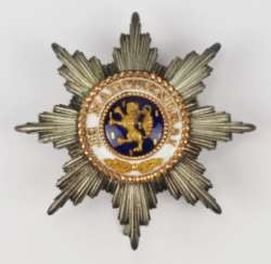 Luxembourg: order of the Golden lion of the house of Nassau, Grand cross star