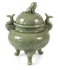 CELADON INCENSE BURNER,