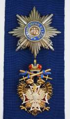 Russia: Imperial and Royal order of the White eagle, set with swords.