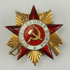 Soviet Union: order of the Patriotic war, 2. Model, 1. Class.