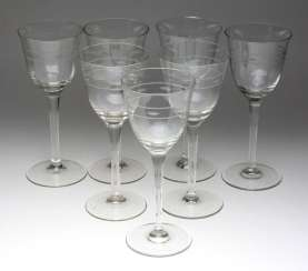Set of Wine glasses 1920s