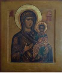 "icon""Hodegetria""Russia, 19th century."