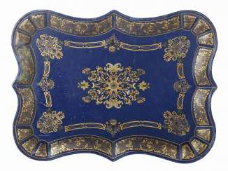 Large lacquer tray around 1900
