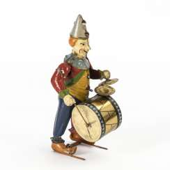 Formerly a tin drummer
