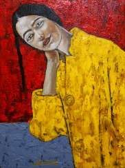 """The Girl in Yellow"" / SOLD OUT"