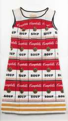 Campbell's Souper Dress. Andy Warhol