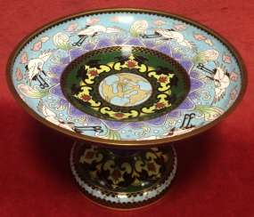 Cloisonne. The bottom. China, XIX century