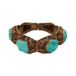 Bracelet with 4 Baroque Turquoise