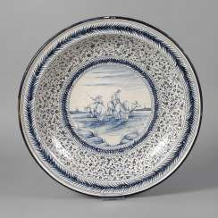 Large Delft Faience Bowl