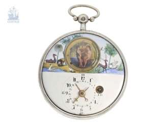 Pocket watch: a particularly large, unusual,