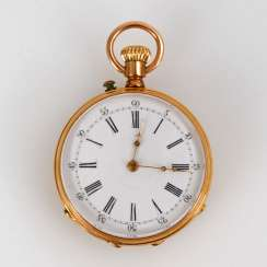 Golden Ladies Pocket Watch.