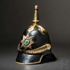 Helmet M 1853 the officers of the Ducal infantry