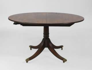 Oval English dining table