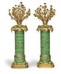 A Couple of great Zierleuchter, 13-burner. Probably France, Mid-19th Century. Century