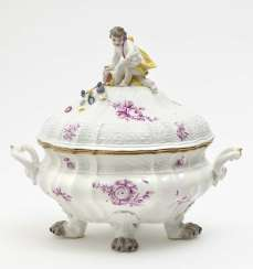 Meissen terrine, mid-18th century