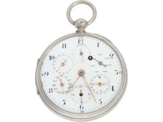 Pocket watch: technical rarity, one of the earliest known astronomical pocket watch with a genuine perpetual calendar
