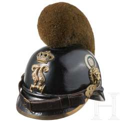 Caterpillar helmet M 1868 for infantry teams