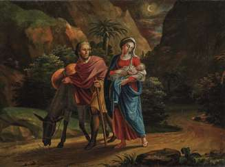 Hl. Family on the flight into Egypt