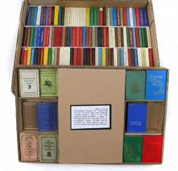 Collection of 198 mini-books